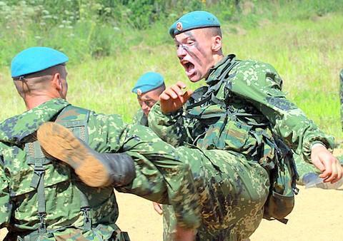 ВДВ России сформировали миротворческие силы