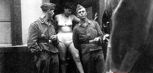 Сексуальное обеспечение немецких солдат в годы вов