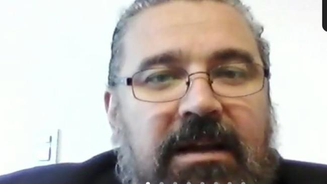 Полковник аргентинской жандармерии Клаудио Кавалло в суде по  кокаиновому делу