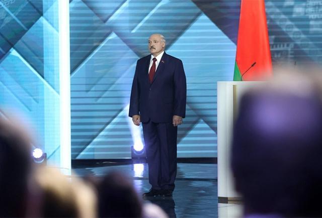 Александр Лукашенко перед ежегодным Посланием белорусскому народу и Национальному собранию, 4 августа 2020 года