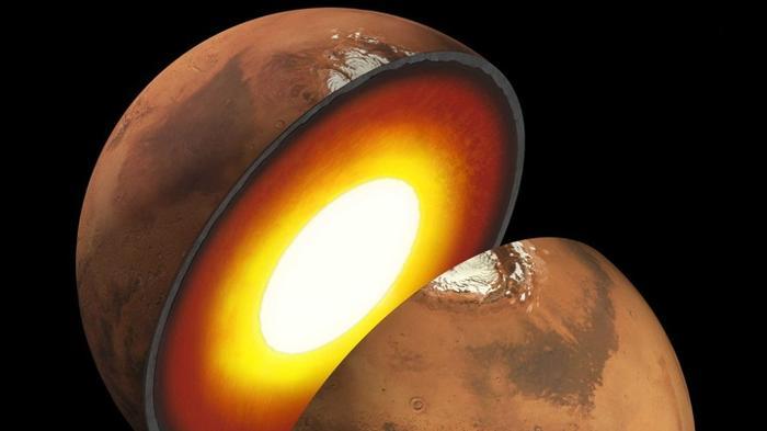 Учёные наконец получили прямые данные о внутреннем строении Марса.