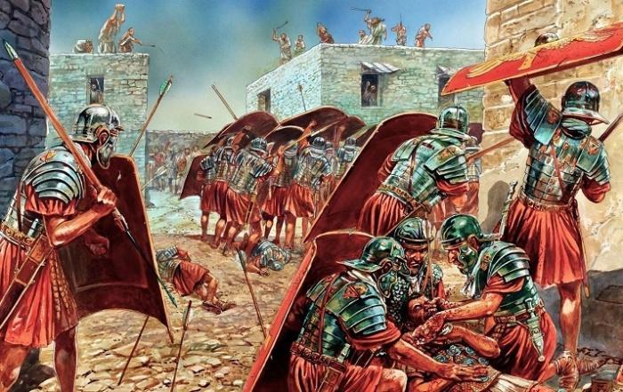 Римляне улица за улицей завоевывали Иерусалим \ Источник: wikipedia.org