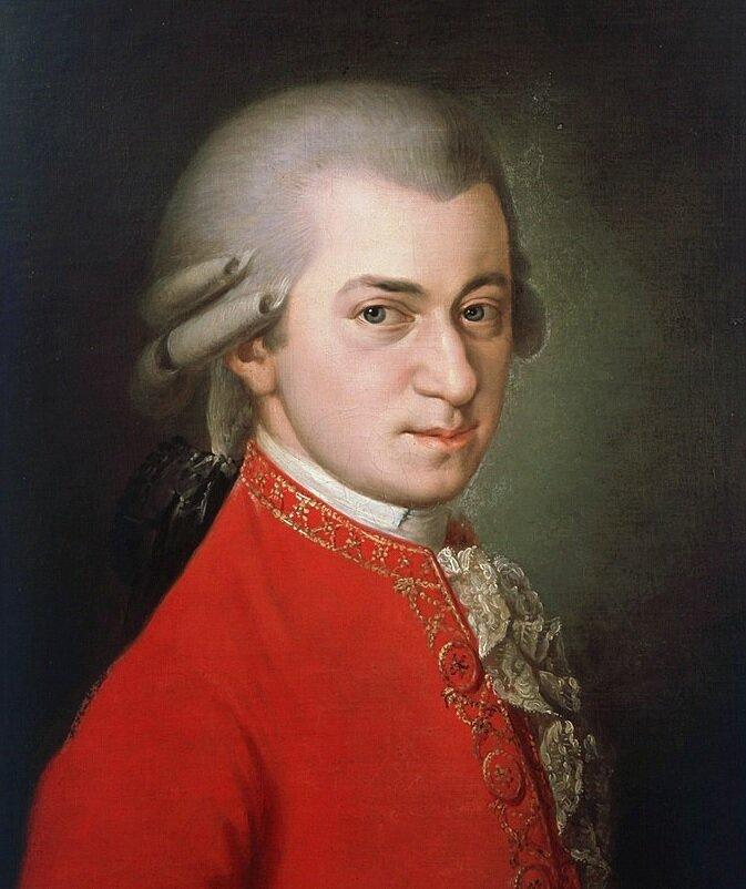 """Неизвестный художник. """"Портрет Вольфганга Амадея Моцарта"""""""