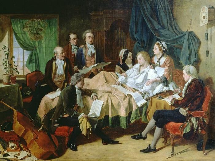 """Г. Н. О'Нил. """"Последние часы жизни Моцарта"""""""