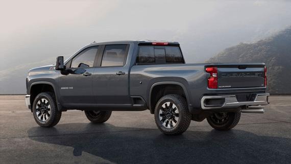 Пикап Chevrolet Silverado HD 2020 / Шевроле Сильверадо HD 2020 – вид сбоку