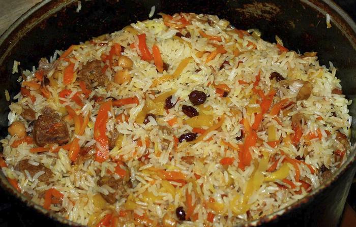 Свадебный плов по ташкентски рецепт с фото