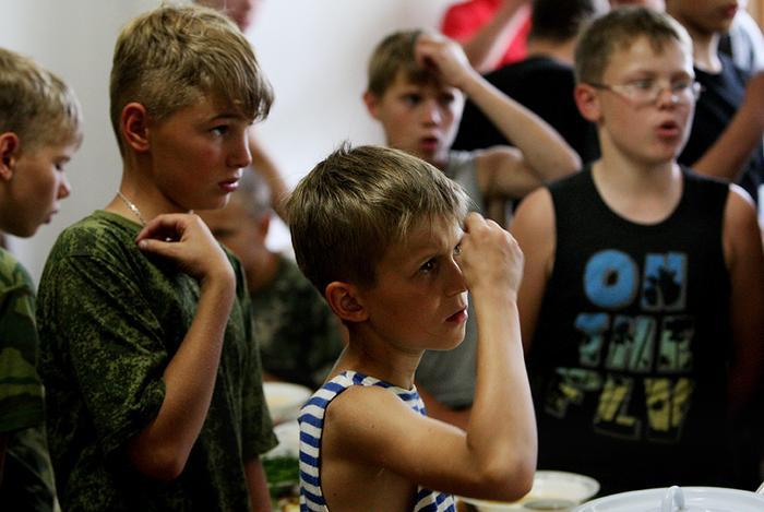 Военно-патриотический детский лагерь «Дальневосточная застава»