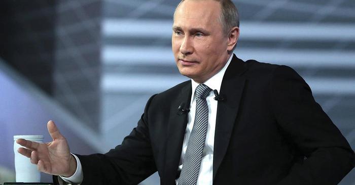 """Путин затроллил про """"дворец"""" во время встречи с волонтёрами"""
