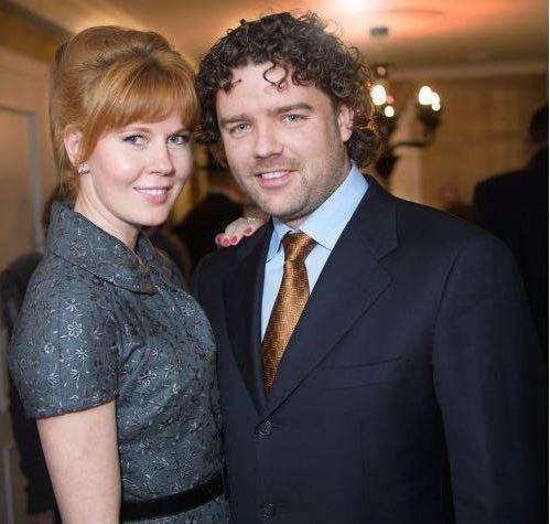 Жанна Золотова с мужем