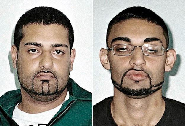 Мубарек Али (слева) и его брат Адель Али (справа). Фото © Rebel Circus