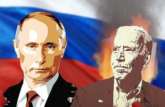 Личная встреча Путина и Байдена может угрожать им обоим. Коллаж автора на основе рис. с pixabay.com