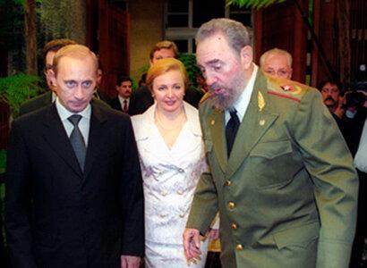 Владимир Путин и Фидель Кастро. 2000 год. Фото из Википедии