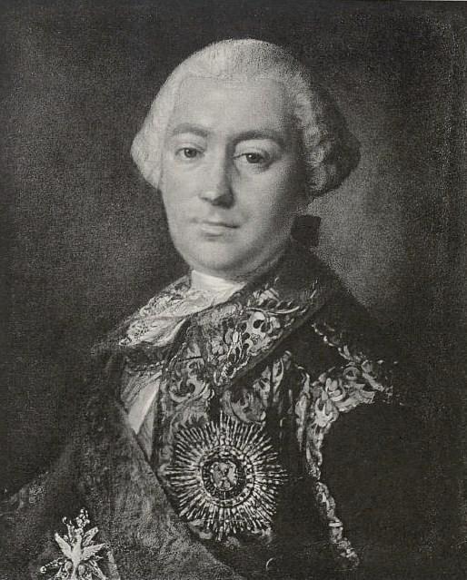 Александр Шувалов [1746−1761].