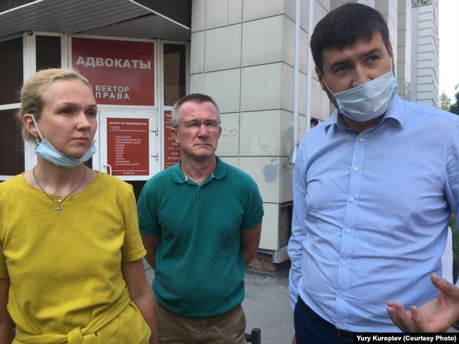 Адвокаты Анастасия Шардакова, Алексей шардаков и Максим Филиппов