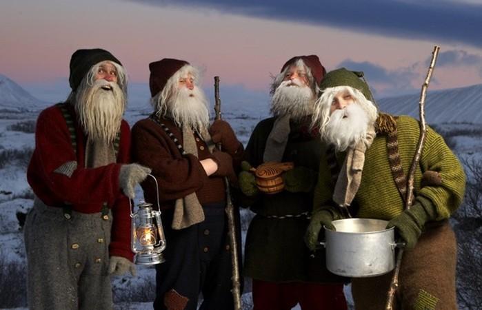 10 сказочных существ, которые приходят под Новый год и Рождество
