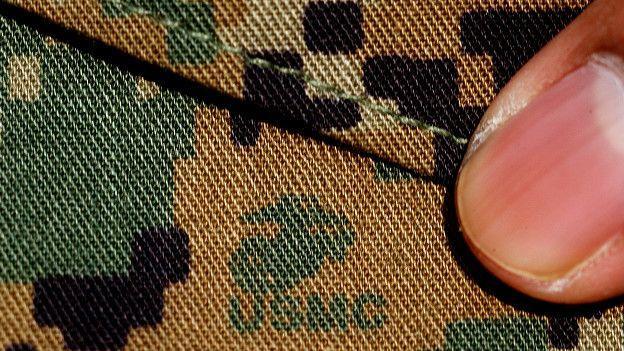 Ткань, из которой пошит камуфляж морпехов США