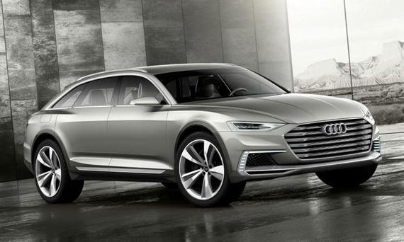 Концепт Audi Prologue / Ауди Пролог на автосалоне в Лос Анджелесе 2014