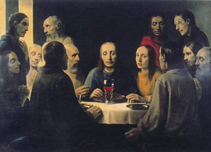 Хан ван Меегерен «Христос вЭммаусе».