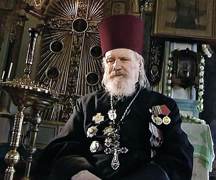 Протоиерей Димитрий Хмель. Фото: YouTube