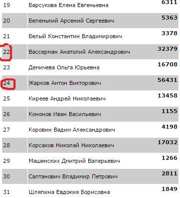 Почему Вассерман не депутат Госдумы