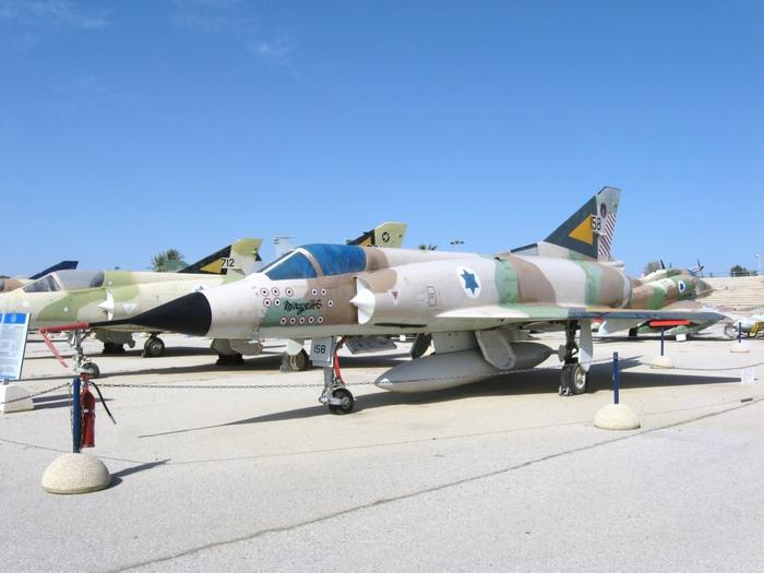 Mirage IIIC ВВС Израиля в музее Хацерим. Фото: wikipedia.org