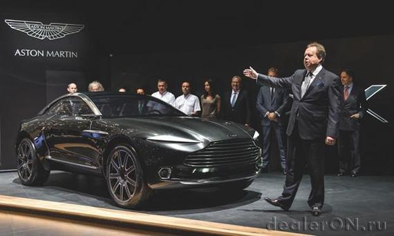 Кроссовер Aston Martin DBX (Астон Мартин DBX). Презентация на Женевском автосалоне 2015 ожидается в 2019 году