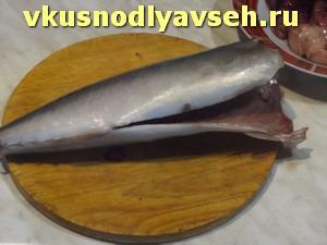 рыбу выпотрошить