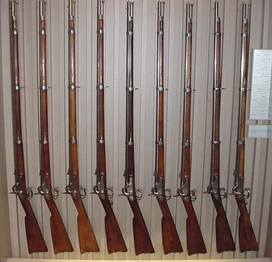 Капсульные нарезные мушкеты — основное оружие гражданской войны США,