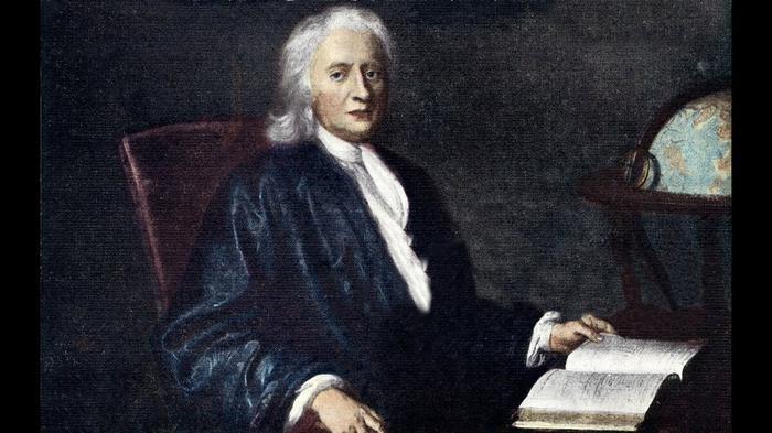 Разочарованный в религии Ньютон
