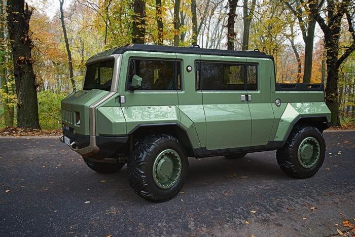 Американские СМИ по достоинству оценили концепт российского гибрида УАЗ и Hummer