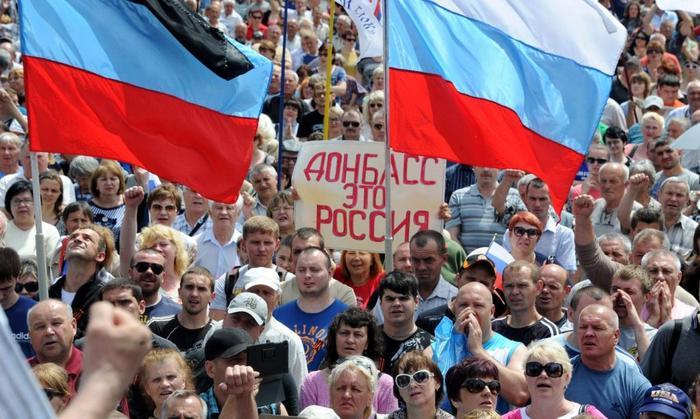 Прорыв идеи: Даже либеральная среда призывает вернуть Донбасс в Россию