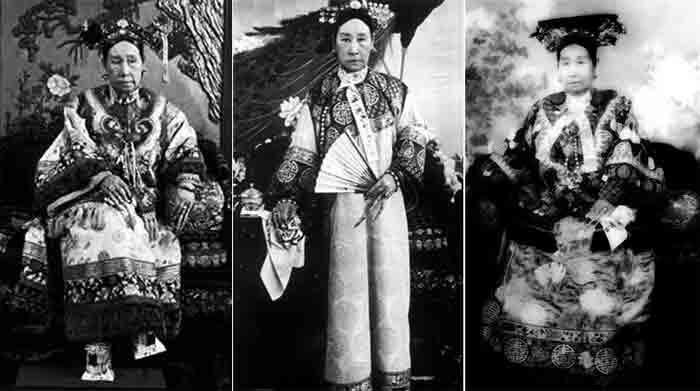 Фото императрицы Цы Си с хучжи