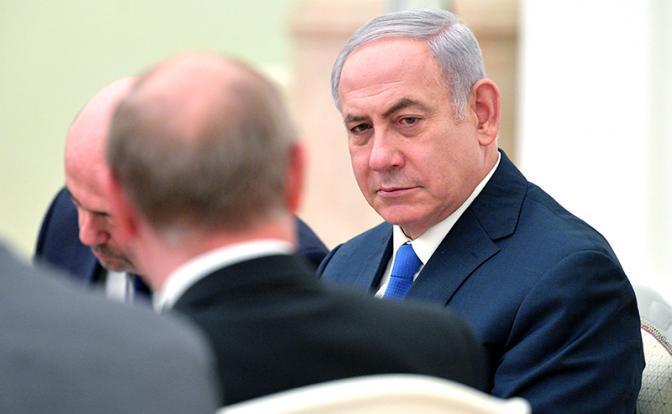 На фото: премьер-министр Израиля Биньямин Нетаньяху во время встречи с президентом России Владимиром Путиным в Кремле в июле 2018 года