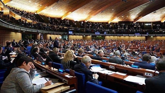 Заседание ПАСЕ в Страсбурге. Архивное фото