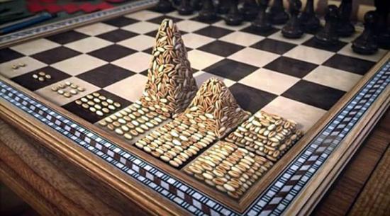 Зерна на шахматной доске