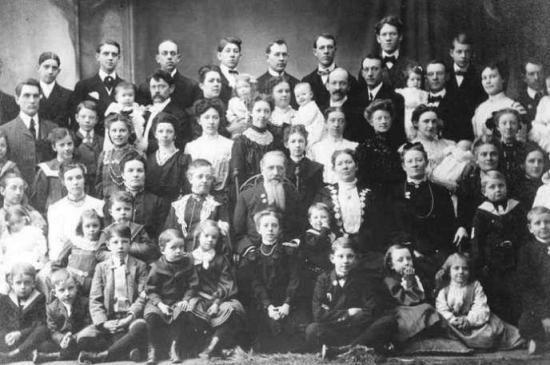 Семья в 19 веке