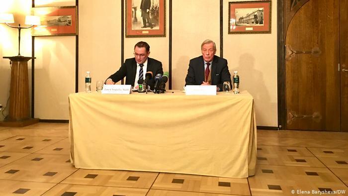 Представители АдГ после встречи с Сергеем Лавровым в Москве