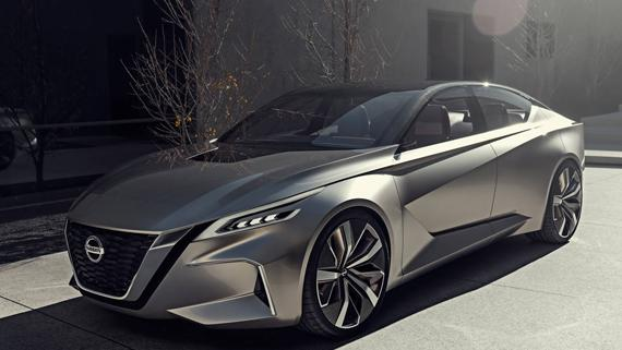 Концепт Nissan Vmotion 2.0 / Ниссан Vмоушн 2.0