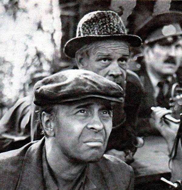 """Олег и Лев Борисовы в фильме """"Садовник"""" (1987)"""
