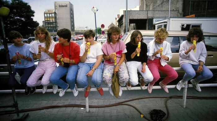 Немецкая молодежь в 1986 году