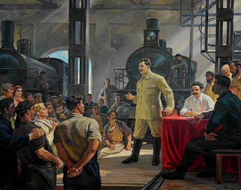 Партия сумела убедить народ, что голод лучше, чем власть империалистов. (фото из открытых источников)