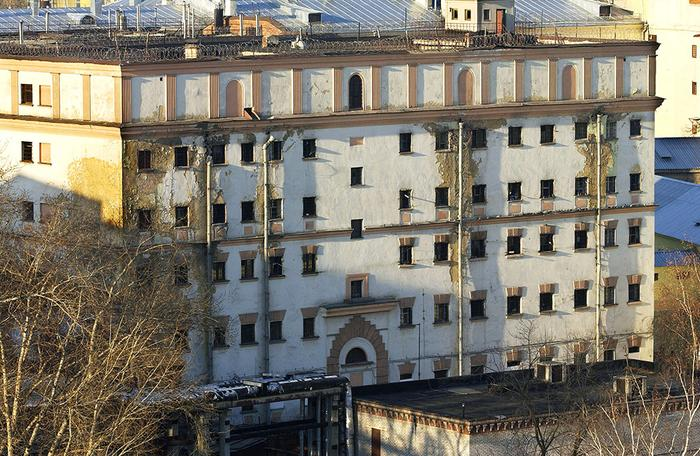 Здание СИЗО «Матросская тишина»