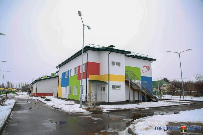 Под Волгоградом распахнул двери детский сад на 100 мест