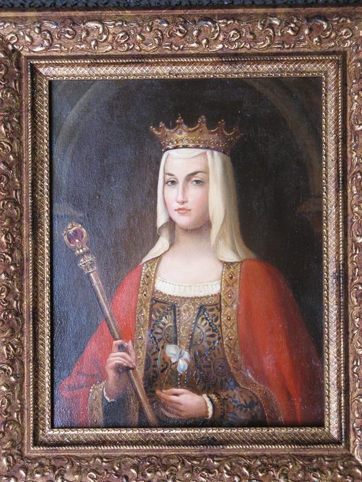 Анна Ярославна - королева Франции.