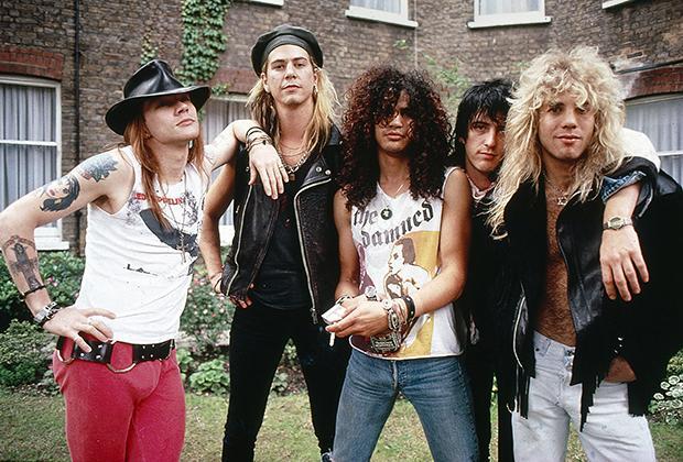Их не было двадцать лет. И вот они возвращаются: Guns N' Roses