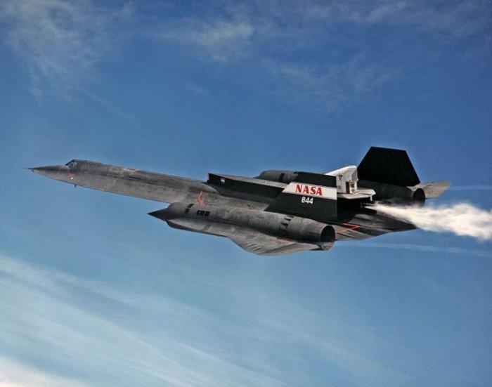 Самолет SR-71A был эффективной летающей лабораторией для космического агентства НАСА. | Фото: warhistoryonline.com.