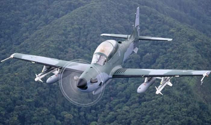 Ударный самолёт А-29 COIN. /Фото: warhead.su