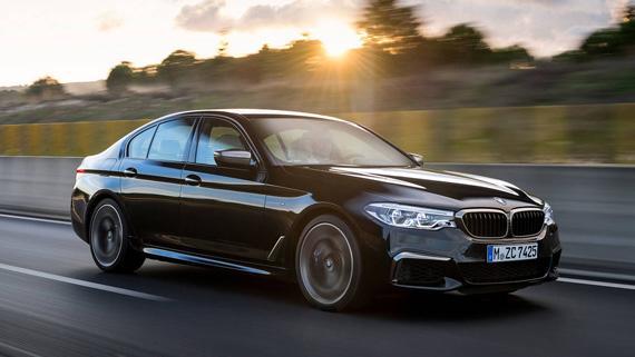 Седан BMW M550i xDrive 2018 / БМВ М550i xDrive 2018