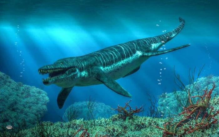 7. Кронозавр гигант, животные, планета