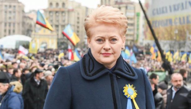 Грибаускайте посоветовали закрыть рот насчет Крыма